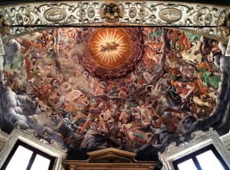 Corrado Formenti 005, La Cappella Foppa, Gloria di Giovanni Paolo Lomazzo