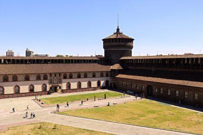 Daniela Loconte 002, Castello Sforzesco