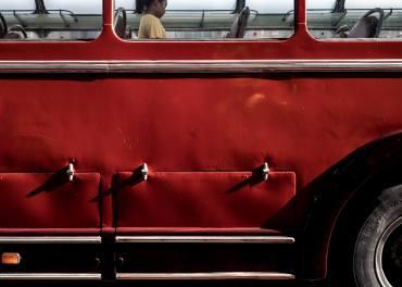 Emanuele Minetti 008, Milano in Colours, vecchie glorie in Piazza Duomo