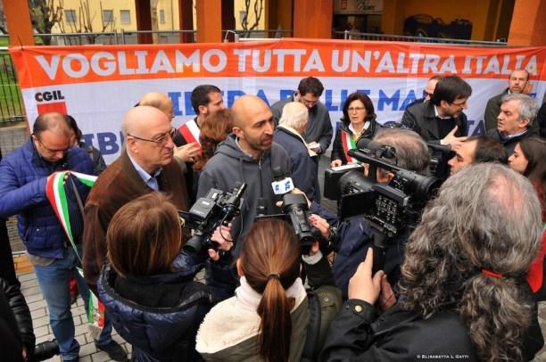 lorenzo sanua figlio di pietro sanua ucciso a corsico nel 1995 viene intervistato dalla stampa