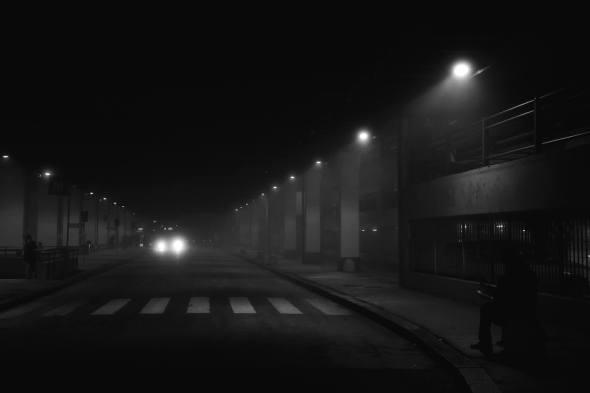 Luigi Lusenti 005, nebbia a Milano