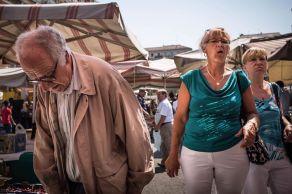 Marzio Toniolo 014, Al mercato di Viale Papiniano
