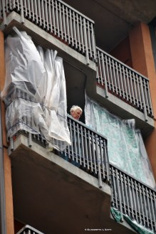 si ascolta il sindaco dai balconi
