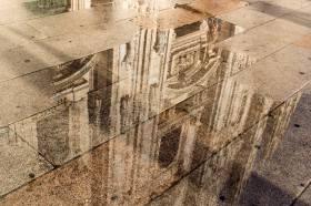 Michele De Fusco 031, il Duomo riflesso