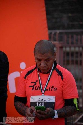 Luigi Alloni, Run For Life, 150