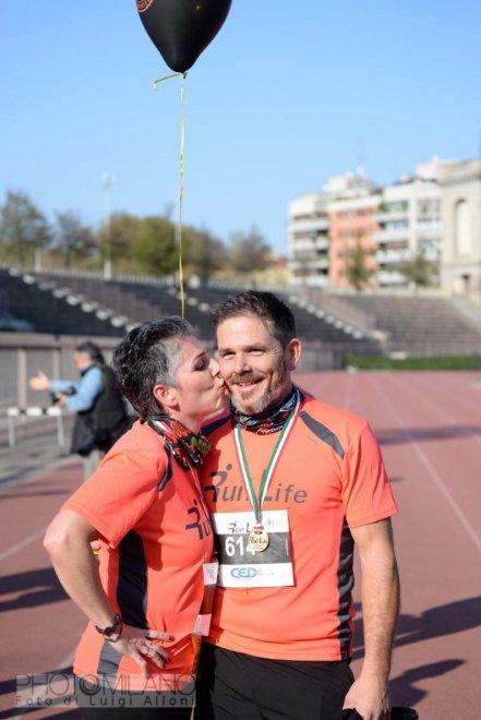 Luigi Alloni, Run For Life, 157