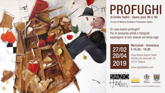 Profughi:mostra a Spazio Tadini, sede di PhotoMilano