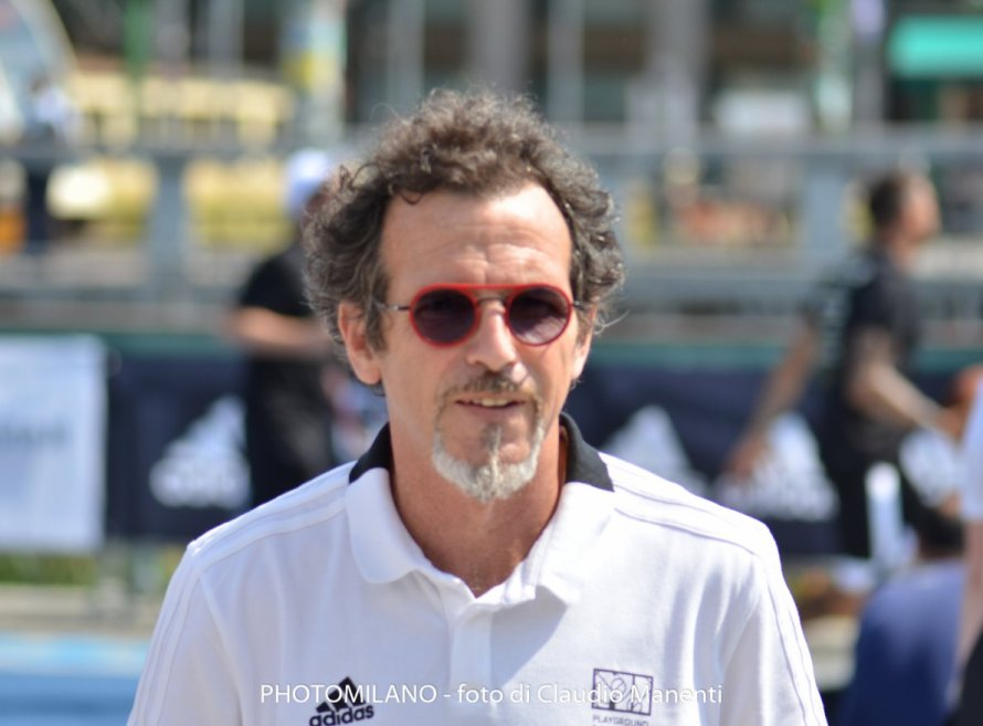 Germano Lanzoni - adidas Playground Milano League, foto di Claudio Manenti