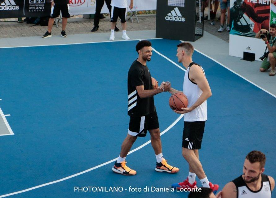 Jamal Murray ad adidas Playground Milano League, foto di Daniela Loconte