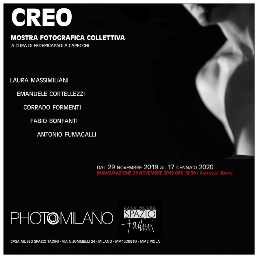 CREO Mostra Fotografica Collettiva PhotoMilano Spazio Tadini