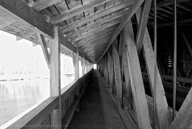 Harpersfield Bridge walkway
