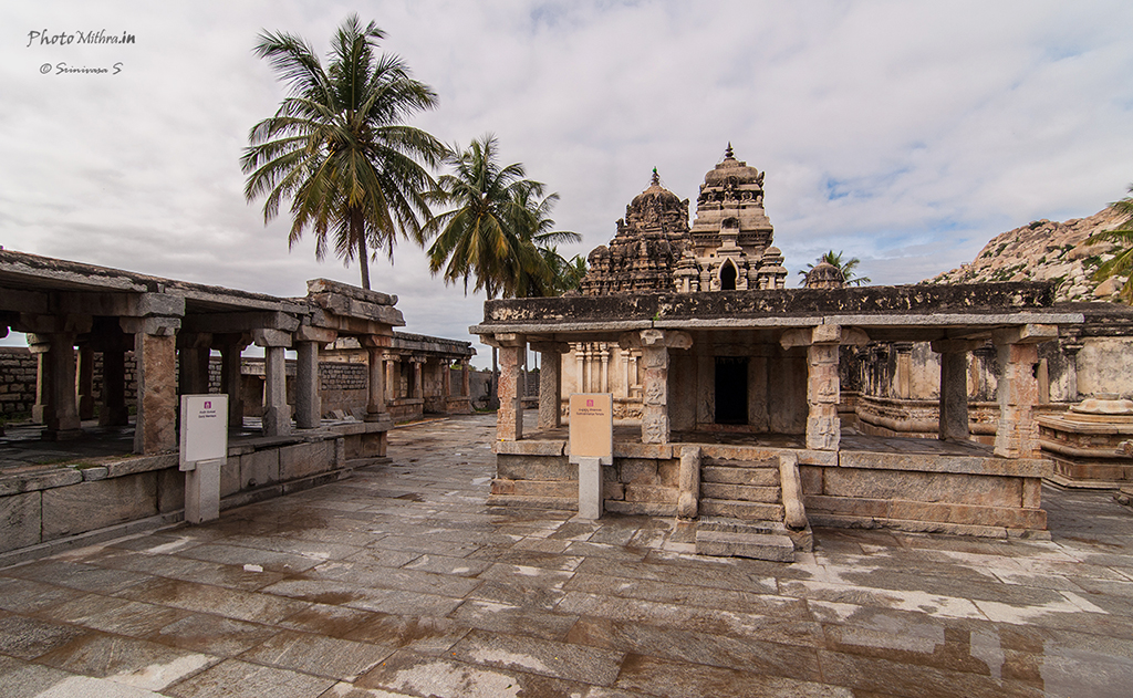 First sight within the Avani temple complex