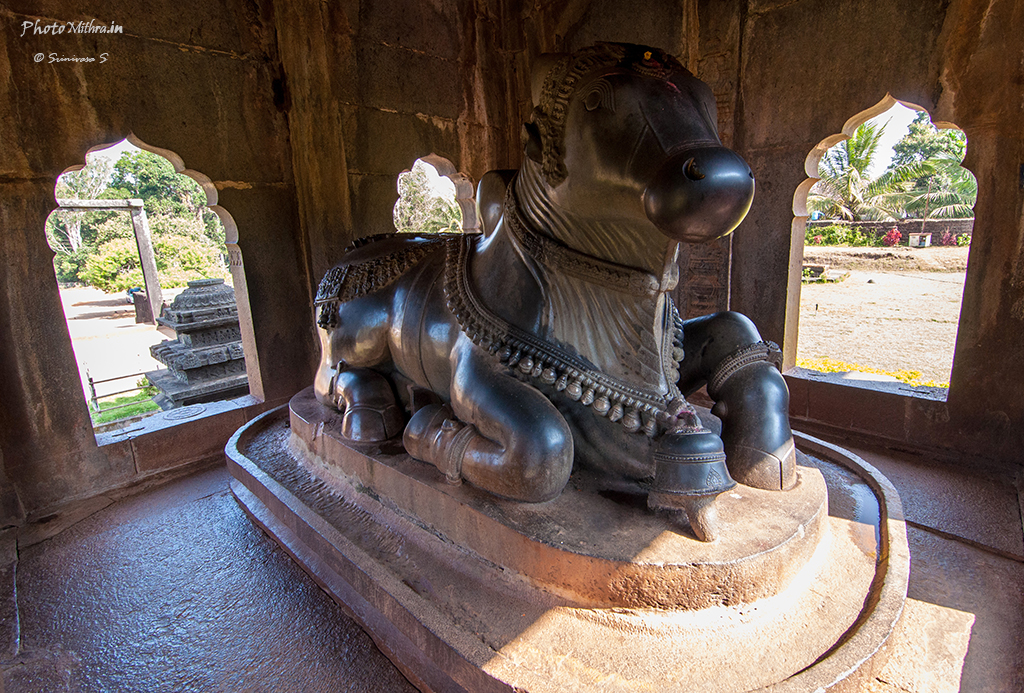 Nandi at Ikkeri temple