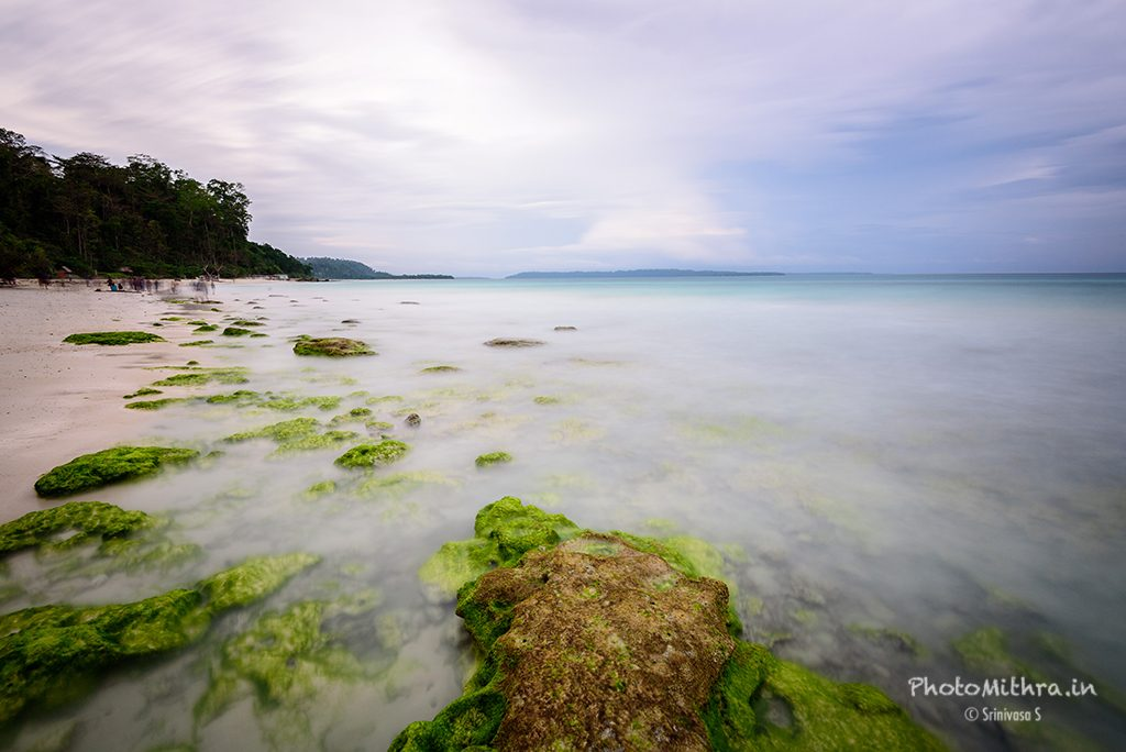 Cloudy evening at Kalapathar beach, Havelock island