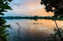 Morning ride to Nelligudde lake