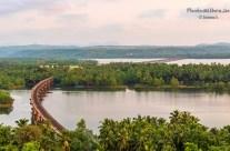 Railway bridge over river Sharavathi