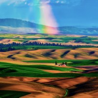Beautiful Mood in Palouse Valley