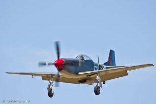 Final approach, Jamestown Air Spectacular