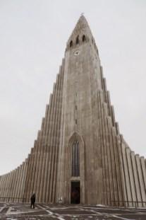 L'église d'Hallgrimur (Hallgrimurkirka)