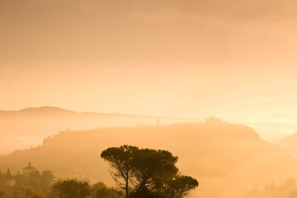 Orvieto Umbria Dawn