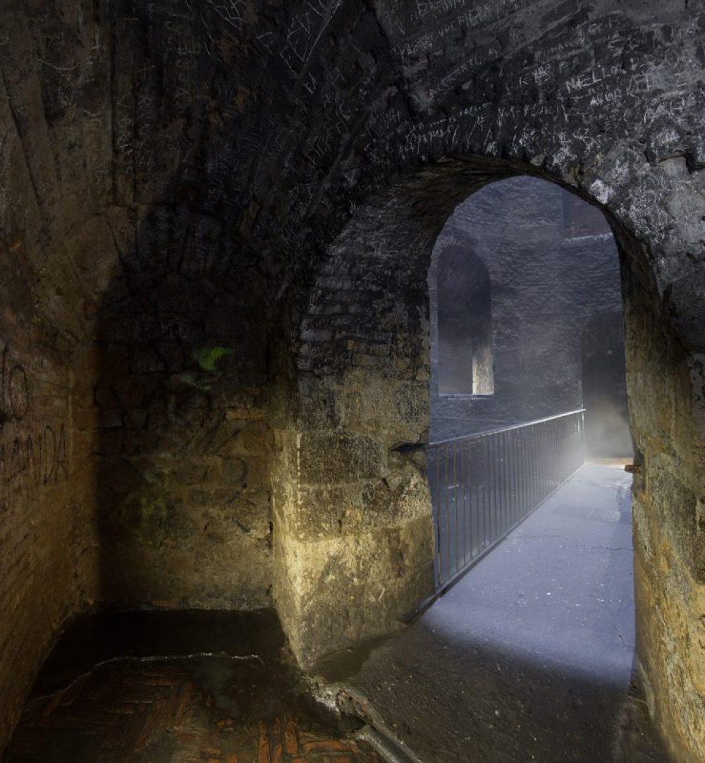 Bridge at bottom St Patrick Well Orvieto