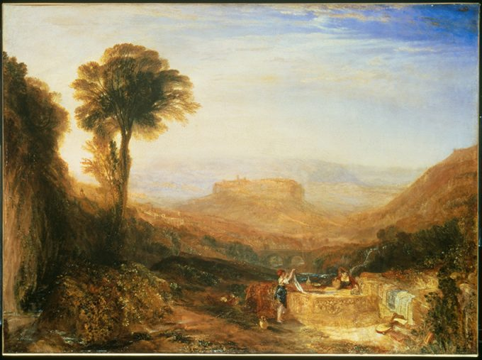 Turner Orvieto 1828