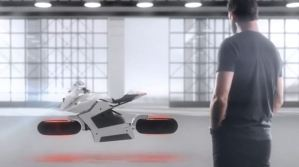 Hoverbike CGI Animation