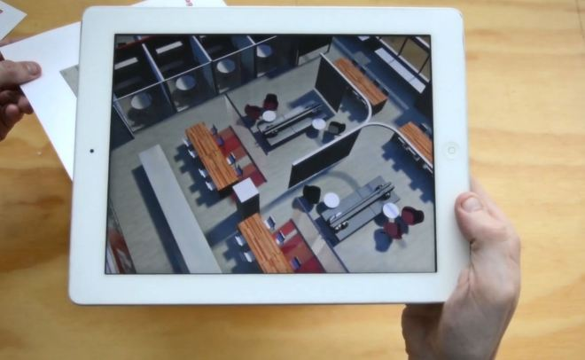 Augmented reality model viewer