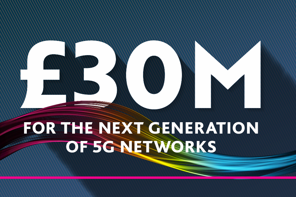£30m FRANC competition supporting UK 5G hardware innovation