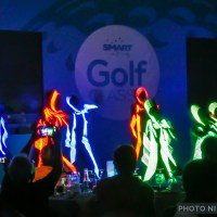 The Neon Dancers... At the Smart Infinity Golf Classic 2016!