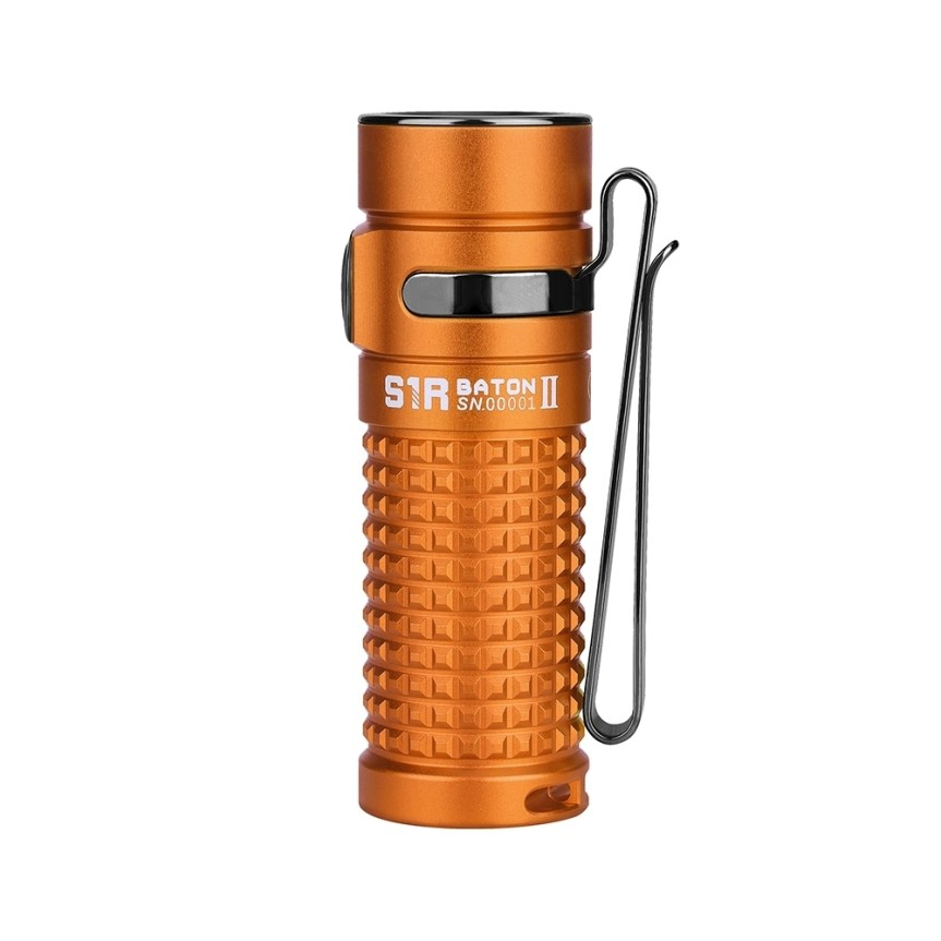 olight s1r baton ii orange