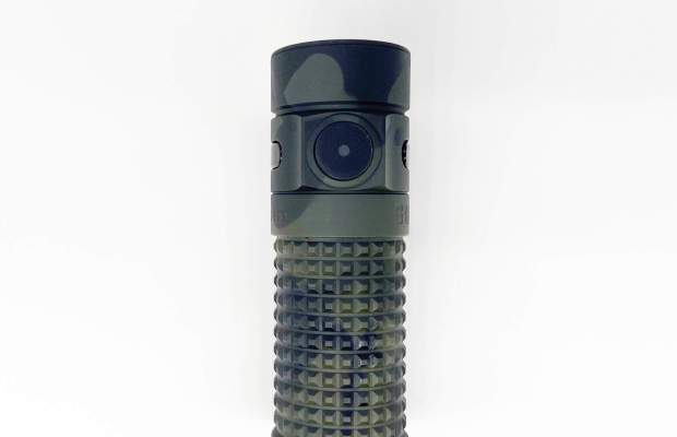 GoingGear Exclusive Cerakoted Olight S1R II Baton flashlight in Multicam Black