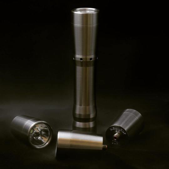 kennedyvapor 18650 flashlight mod