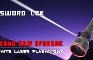 Maxtoch Xsword L2K LEP laser thrower flashlight