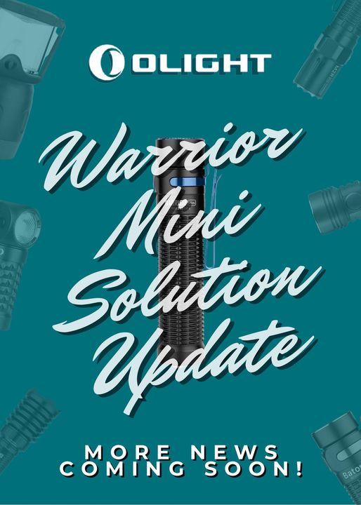 Olight Warrior Mini Program