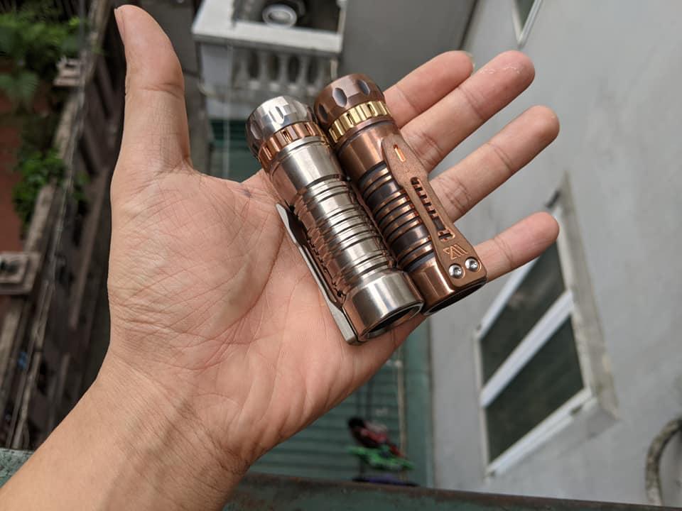 Phuoc Trinh custom flashlight