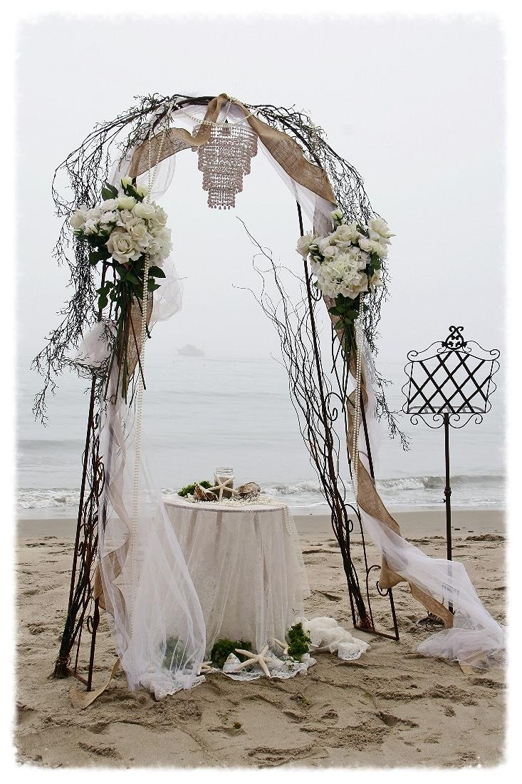Tulle Arch Decorations Photos