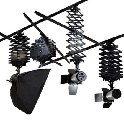 Photography ceiling light rail track kit Studio Ceiling Track System Photography Sky Rail  Local Pick Up