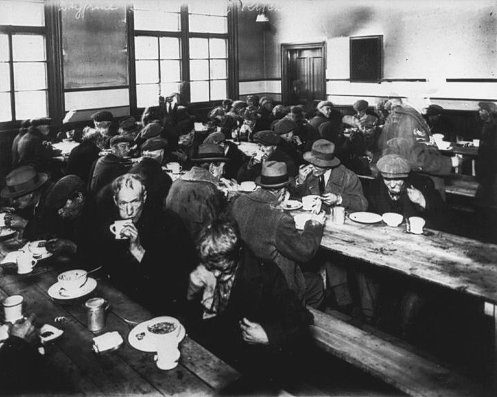 Soup Kitchen Photos 1930