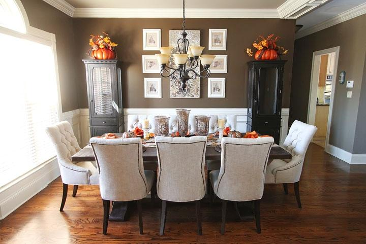 Photos Decorated Dining Room Tables