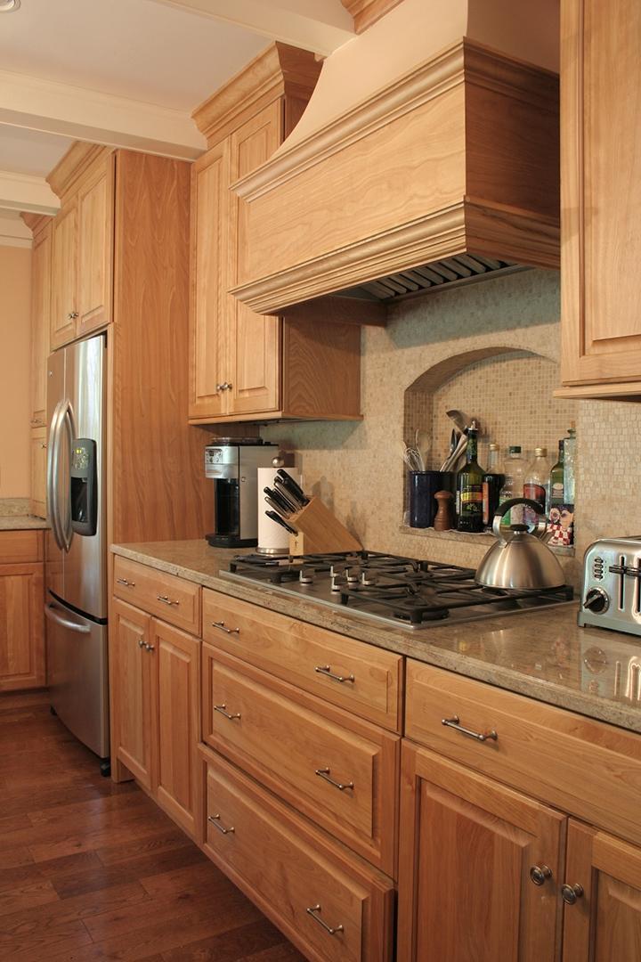 Red Oak Kitchen Cabinet Photos
