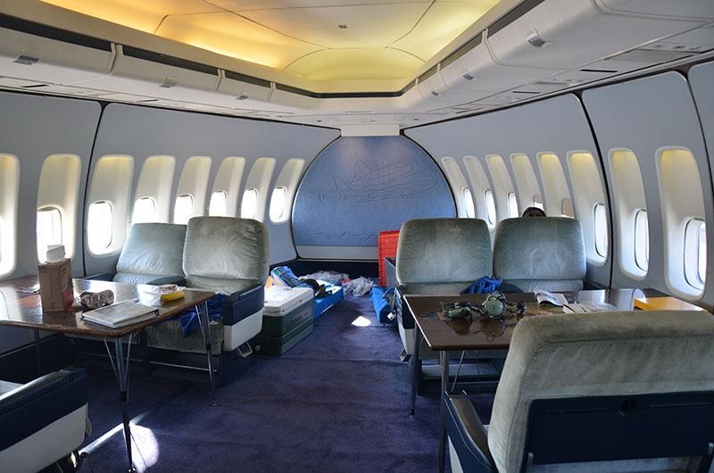 Boeing 747 Interior Photos