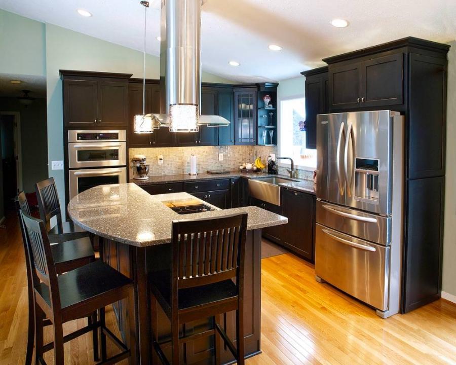 Split Level Kitchen Remodel Photos