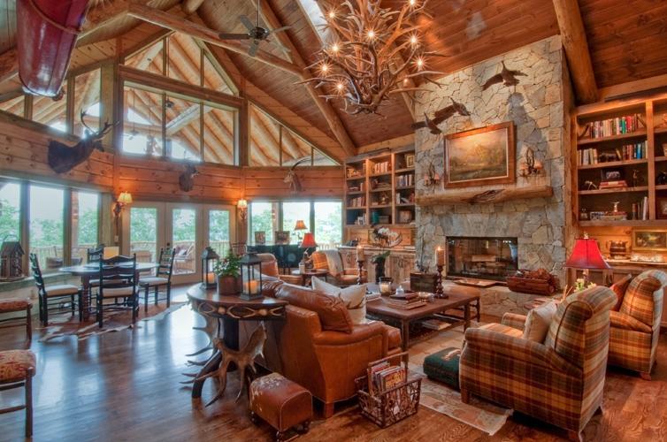 Rustic Cabin Interior Photos