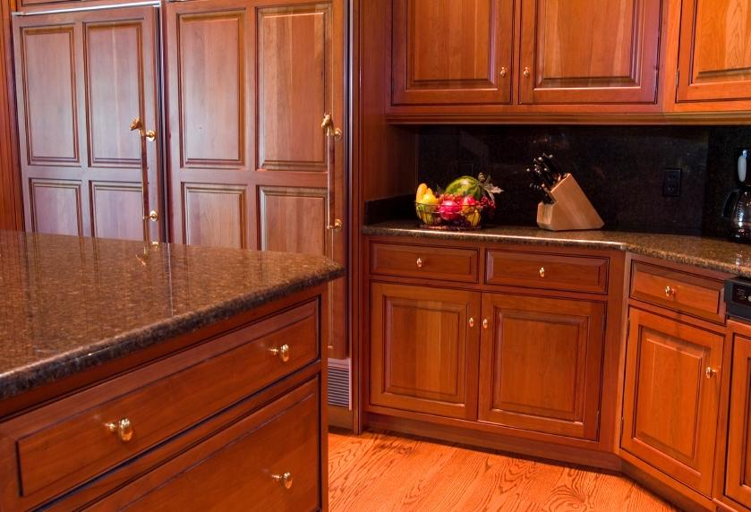 Cherry Cabinet Hardware Photos