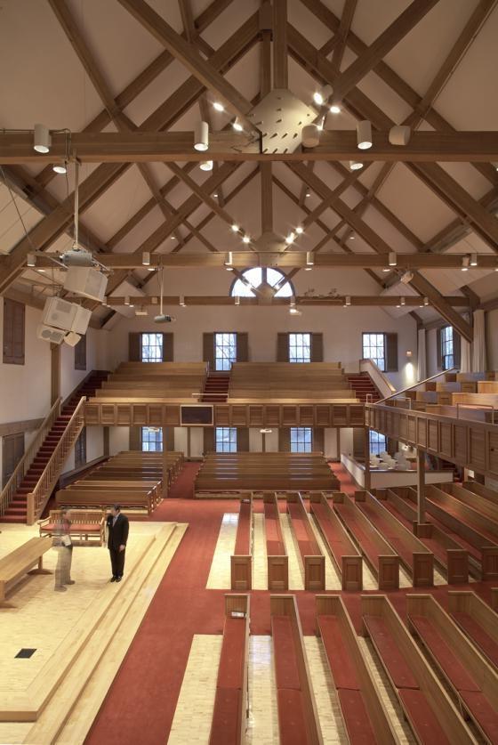 Colonial Churches Interior Photos