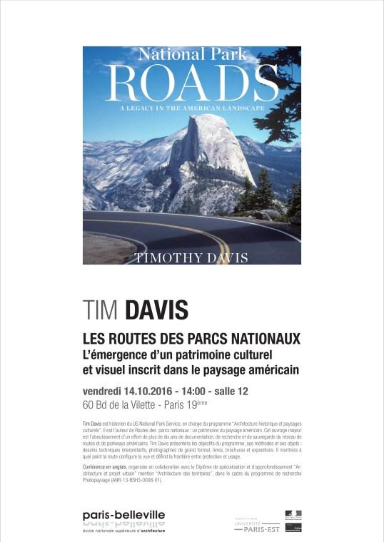 Conférence de Tim Davis
