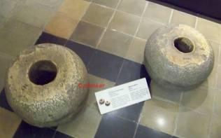 Circular Stone Bases 2500 BC
