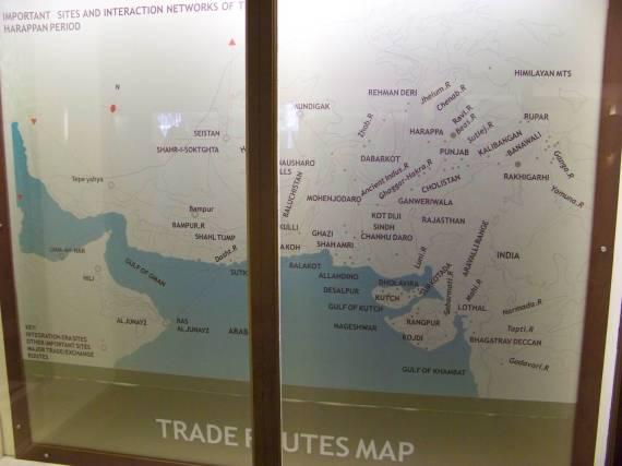 Harapan Trade Routes