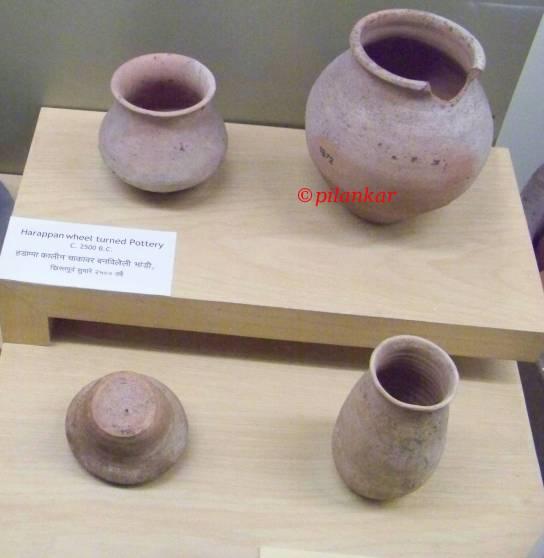 Harapan Wheel Turned Pottery 2500 BC